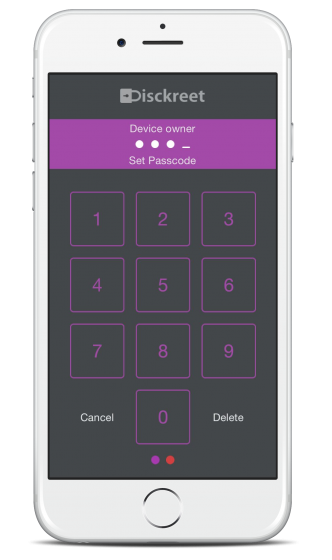 iPhone 6 Silver Passcode 1
